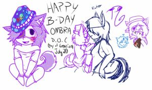 HAPPY B-DAYS by iiRoxYSaYa