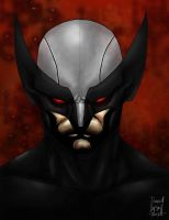 Wolverine X-Force by buttchewer