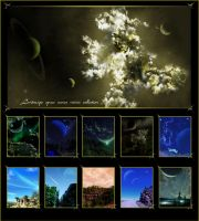 Landscape-Space Poster by QieT
