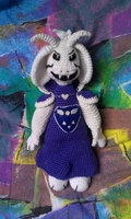 Asriel Dreemurr - Transformed (Undertale) by Hiebsi