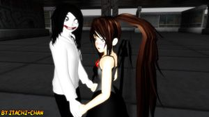 Recognition of Jeff the Killer by Gokumi