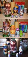 League of Legends : Nesting dolls! by Philiera