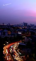 Bangkok City by tarzzann