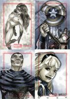 Marvel 70th Sketch Cards -b by RichardCox