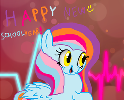 Happy New School Year by cottoncloudyfilly