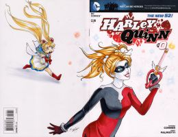 Commission: Harley Quinn #0 Sketch Cover by Ranefea