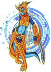 The Beautiful Dancer by INCtastic