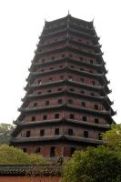 Liuhe Pagoda 1 by wildplaces