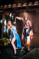 Archbishop and Shura - Ragnarok Online by Elffi