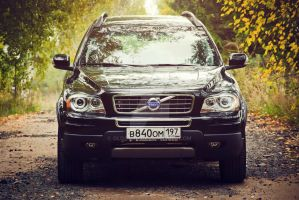 Volvo XC90 black by OldStaR