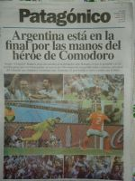 After the game newspaper by DingoPatagonico