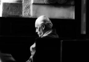 Man At Rest by Bazz-photography