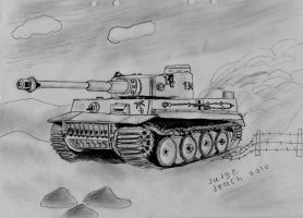 Tiger Panzer VI by warrior1944