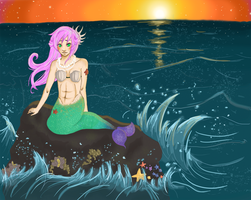 The Mermaid by MissOne