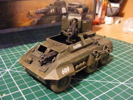 Imperial Guard Cadian Greyhound by Levariel