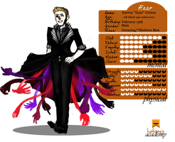Haar Grimm Reference! by C--YOU