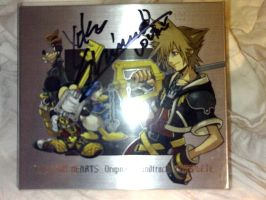 KHII:FM+ OST, Shimomura Signed by Heartprism