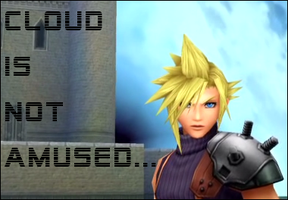 Cloud is Not Amused by XxSweet-NightmarexX