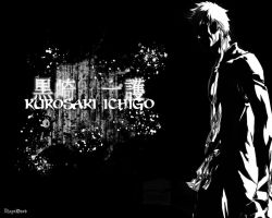 The Black Rescuer (Ichigo Kurosaki) by PlayxDead88