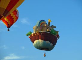 Balloon Festival 9 by Dracoart-Stock