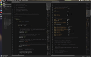 Sublime Text 2 and Ubuntu 12.04 LTS by mudsflapp