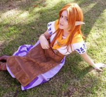 Malon - Legend of Zelda by GunnerYunie