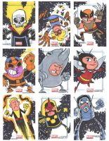 Marvel Universe Sketchcards 05 by thecheckeredman