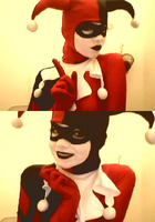 Little preview of Harley Quinn by Childishx