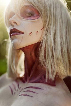 Attack on Titan : female titan. by LadyxZero