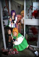 Highschool of the dead grupal by BannanaDreams
