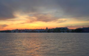 Kungsholmen at Sunset VI by HenrikSundholm