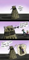 Daleks need love too by Fonora