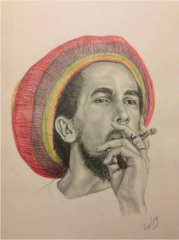 Bob Marley by bengray94