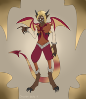All-Seeing Cappucino (Hatched Egg adopt) by CannibalHarpy