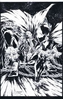 Spawn Cover Re Creation by adelsocorona