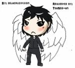 Shin Human for Chibi by delacruzifixion