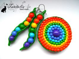 Set 'Rainbow' by Tantalia
