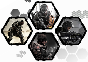 Call of Duty: Advanced Warfare by WE4PONX
