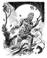 Universal Monsters: The Wolf Man by deankotz