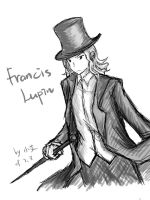 APH detective-Francis Lupin by RabbitonBooks