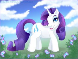 MLP Rarity by madam-marla