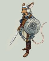 Jewish Mouse Warrior - Ancient Era by TheLivingShadow
