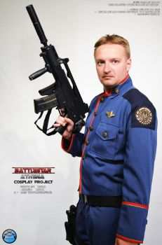 Battlestar Galactica Cosplay - Stock6 by Joran-Belar