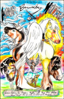 Forever Brumby Warriors - Cover Page by BrumbyHorseWarrior95