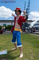 25th May MCM LON Monkey D Luffy by TPJerematic