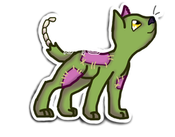 Snookums Sticker by Starphishy