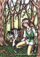 Guardian of Carpathian Forest by MoonlightPrincess