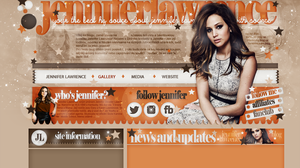 Free Layout ft. Jennifer Lawrence #03 by BebLikeADirectioner