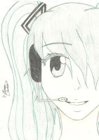 Hatsune Miku by smilinglightly