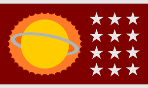 Flag of Zur-En-Arrh by CyberPhoenix001